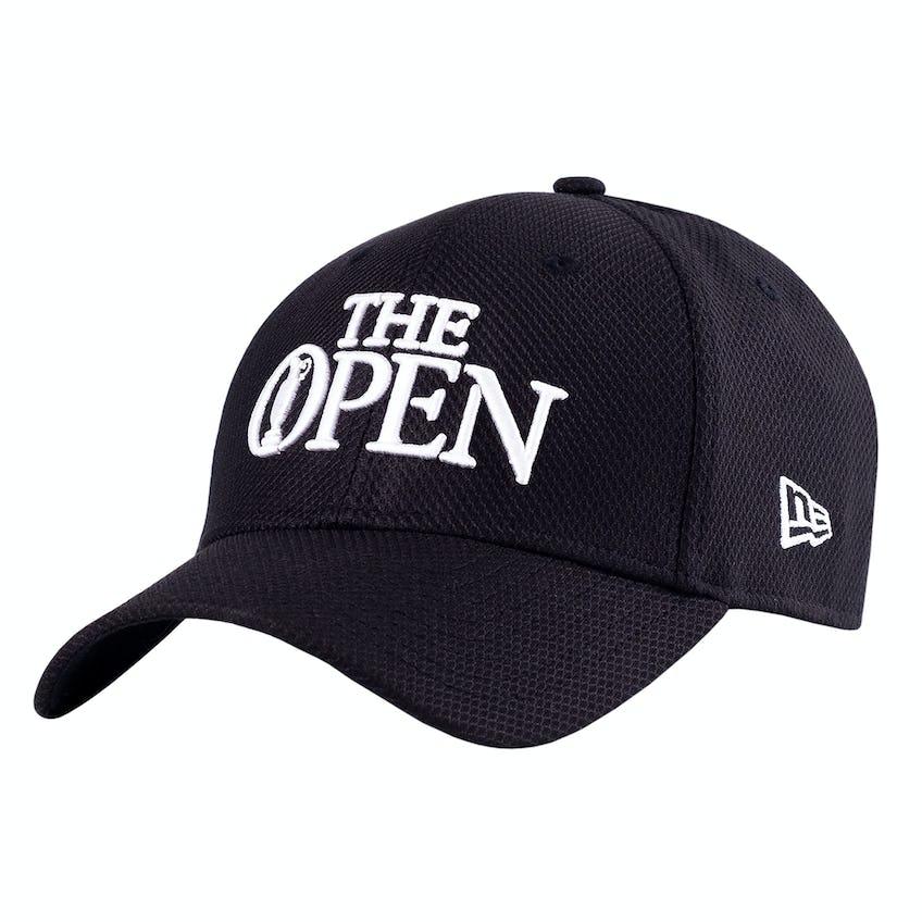 The Open New Era Baseball Cap - Black 0