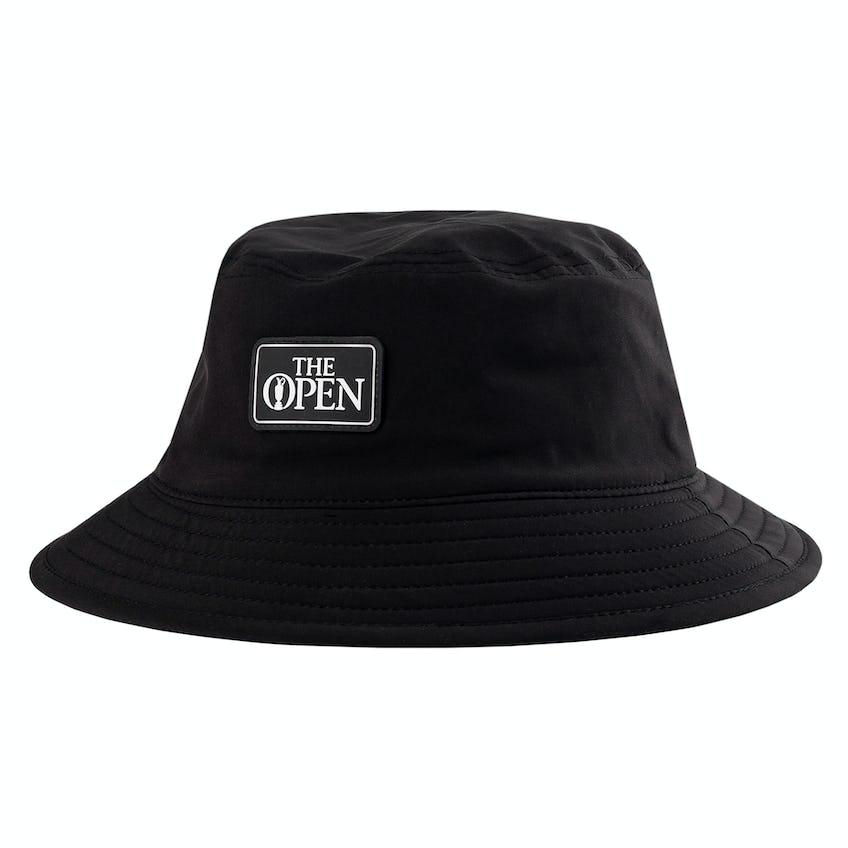 The Open Bucket Hat - Black 0