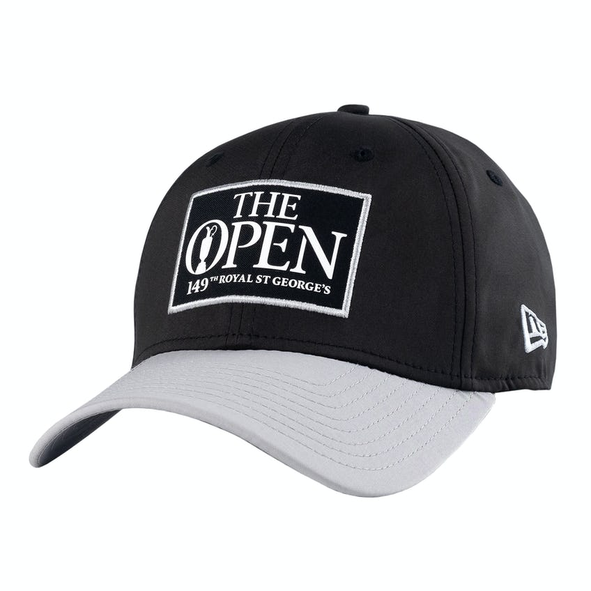 149th Royal St George's New Era Fitted Baseball Cap - Black and Grey 0
