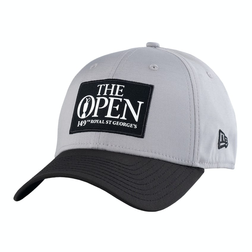 149th Royal St George's New Era Fitted Baseball Cap - Grey and Black 0