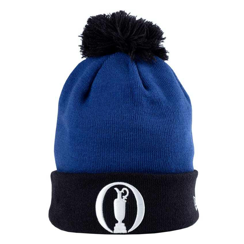 The Open New Era Beanie Hat - Blue and Navy 0