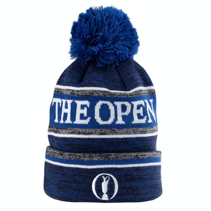 The Open New Era Beanie Hat - Blue 0