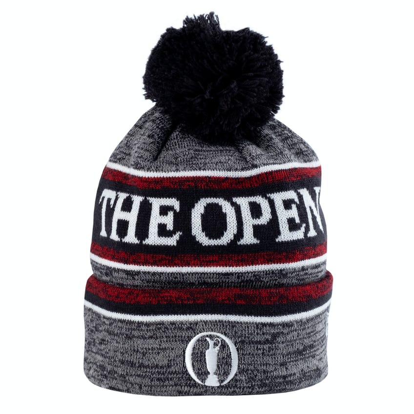 The Open New Era Beanie Hat - Red and Navy 0