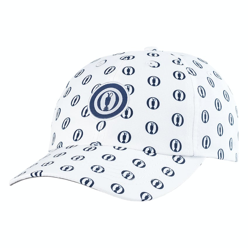The Open Youth Fit Baseball Cap - White and Navy 0