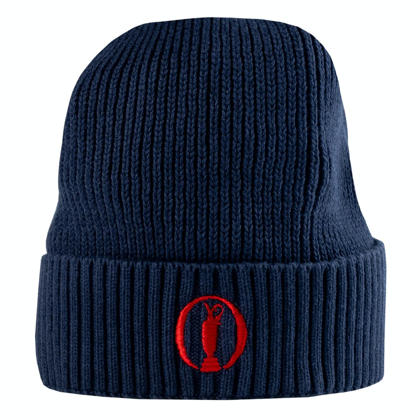 BOSS Arebo Beanie Hat - Navy 0