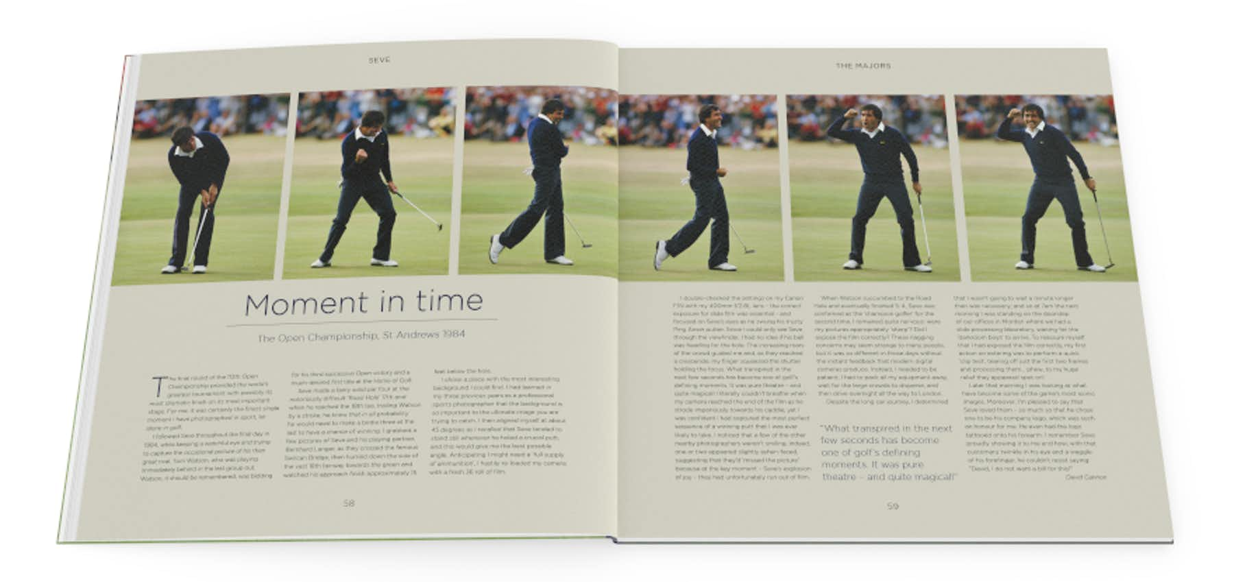 Seve: His Life Through the Lens – The Ultimate Tribute to a Golf Legend