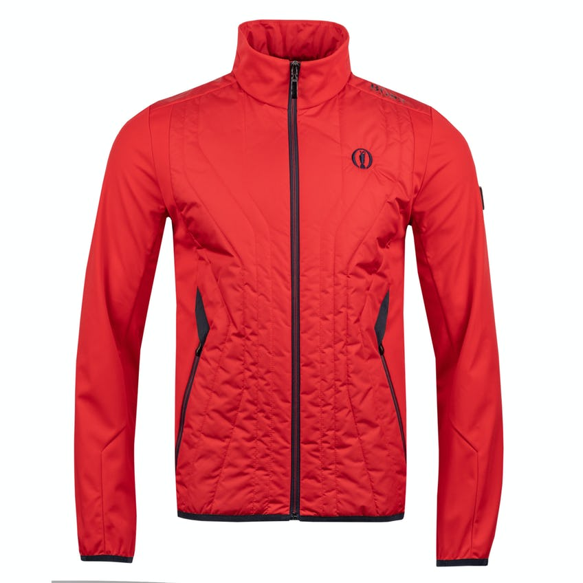 The Open BOSS Jacket - Red 0