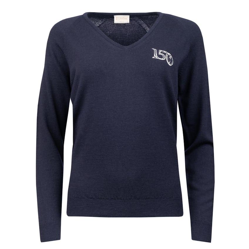 Commemorative 150th Open Glenbrae V-Neck Sweater - Navy 0