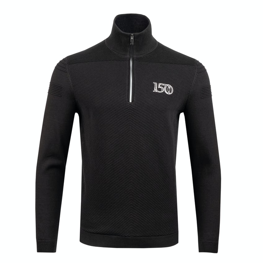 Commemorative 150th Open BOSS 1/4-Zip Layer Sweater - Black 0