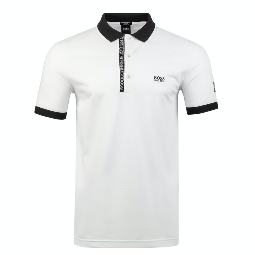 Commemorative 150th Open BOSS Slim-Fit Polo Shirt - White 0
