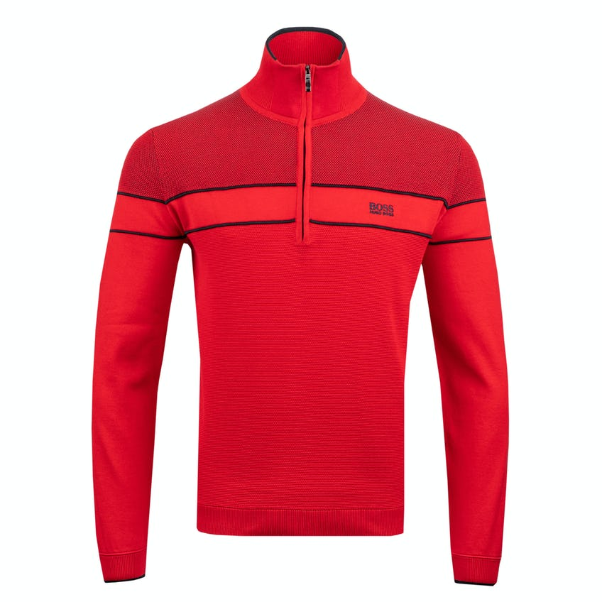 Commemorative 150th Open BOSS Zip-Neck Layer Sweater - Red 0