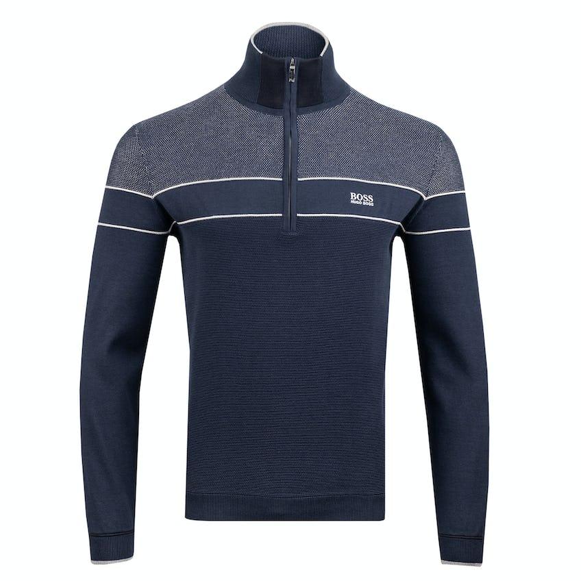 Commemorative 150th Open BOSS Zip-Neck Layer Sweater - Navy 0