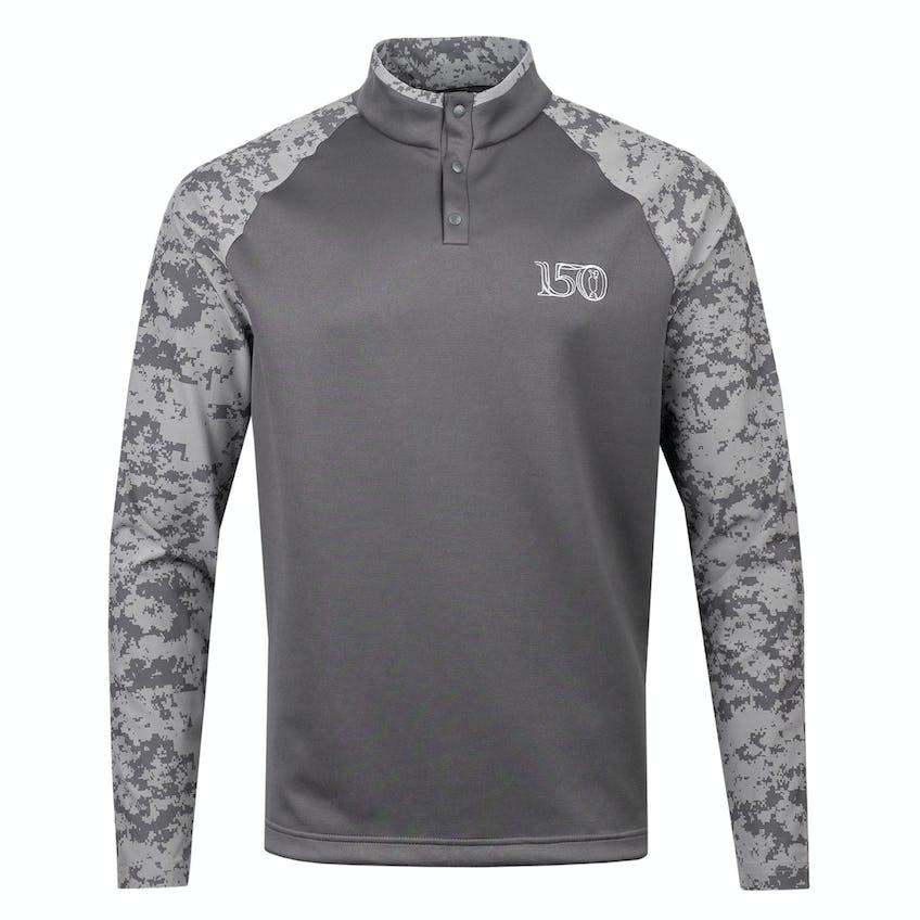 Commemorative 150th Open adidas Hybrid Layer Sweater - Grey 0