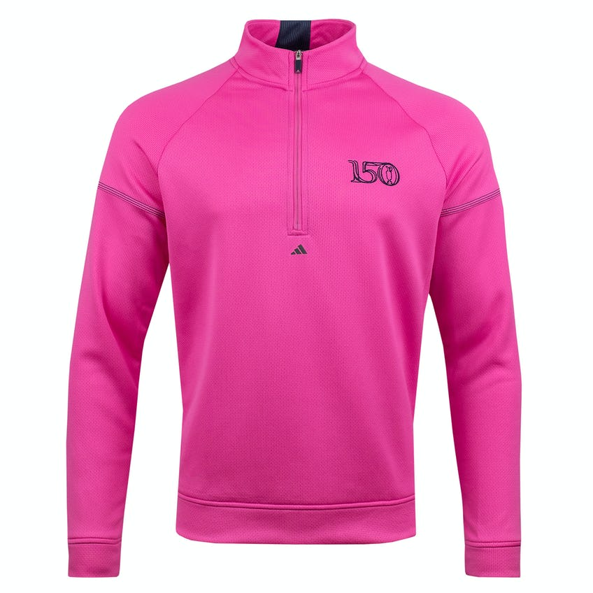 Commemorative 150th Open adidas 1/4-Zip Layer Sweater - Pink 0