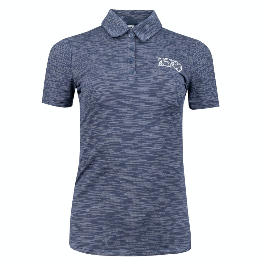 Commemorative 150th Open adidas Space Dye Polo Shirt - Navy 0
