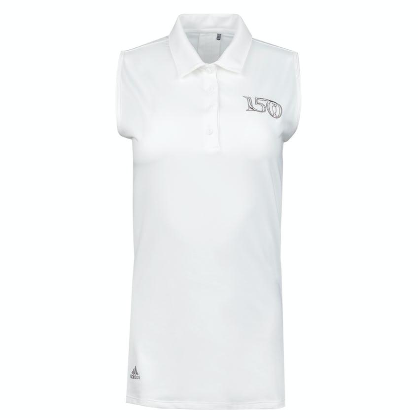 Commemorative 150th Open adidas Ultimate365 Sleeveless Polo Shirt - White 0