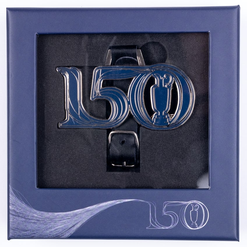 Commemorative 150th Open Bag Tag Gift Set - Navy 0