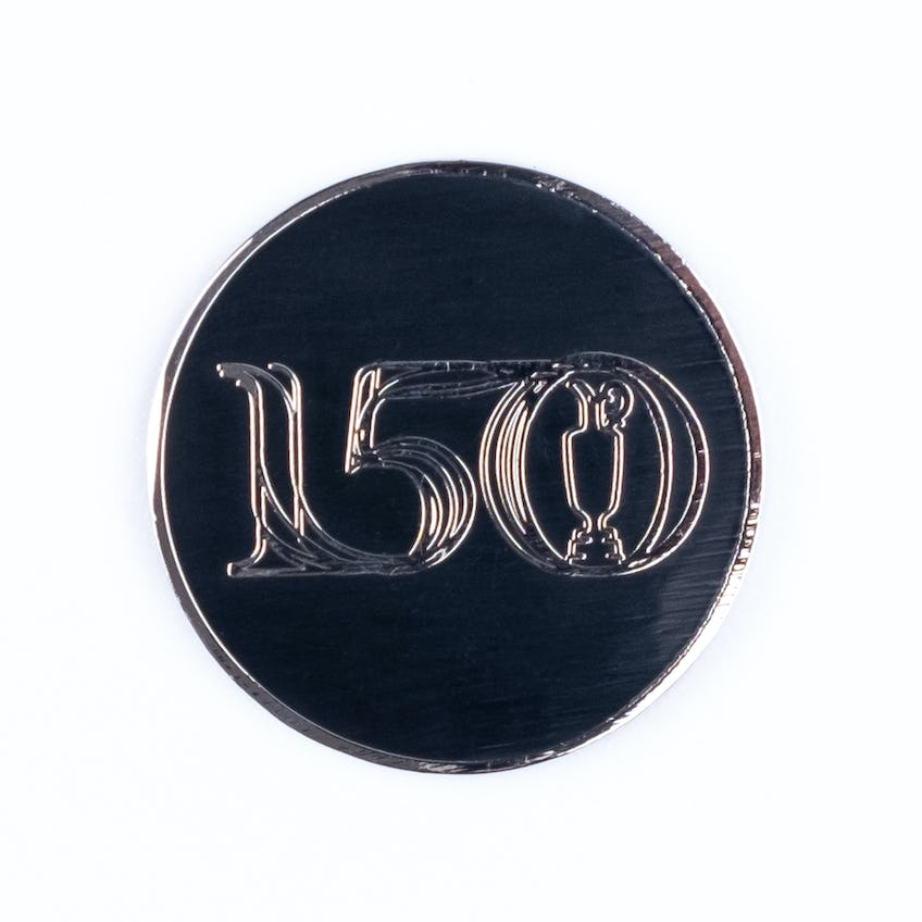 Commemorative 150th Open Two-Sided Ball Marker - Black 0