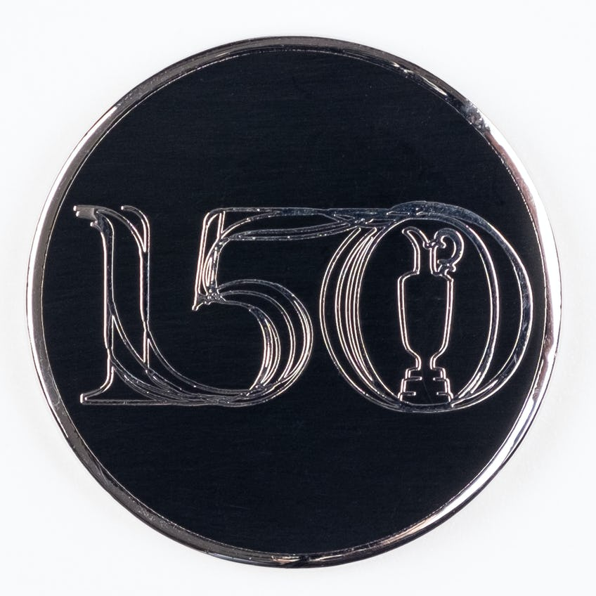 Commemorative 150th Open Two-Sided Collector's Coin - Black 0