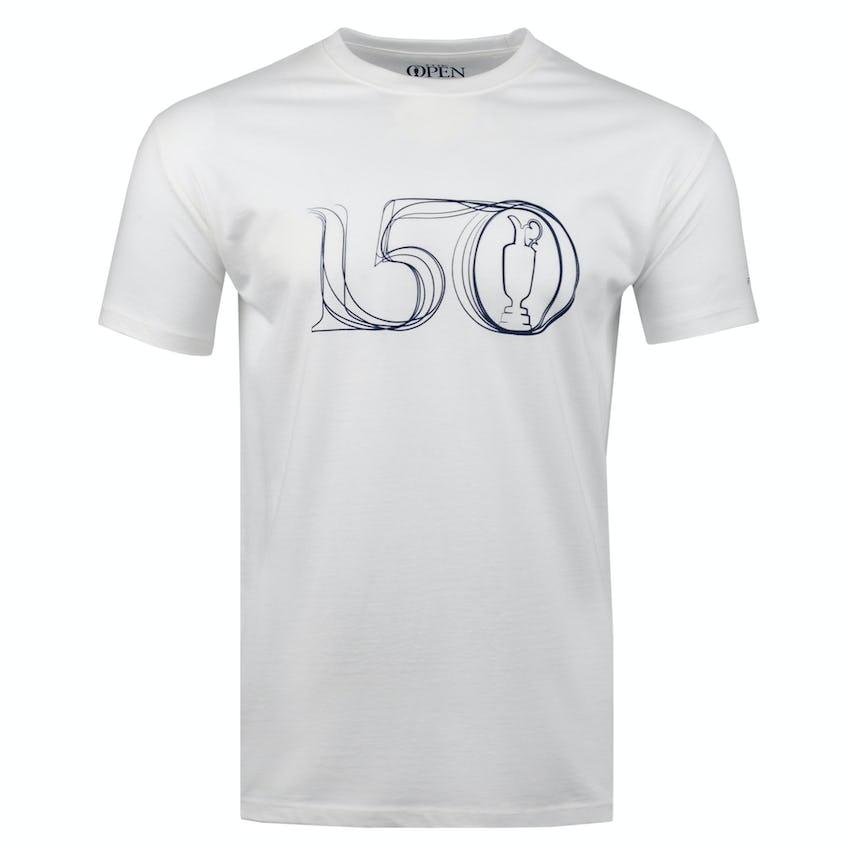 Commemorative 150th Open Crew-Neck T-Shirt - White 0