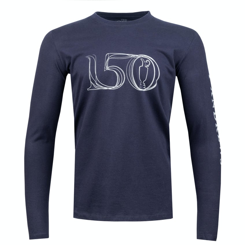 Commemorative 150th Open Long-Sleeved T-Shirt - Navy 0