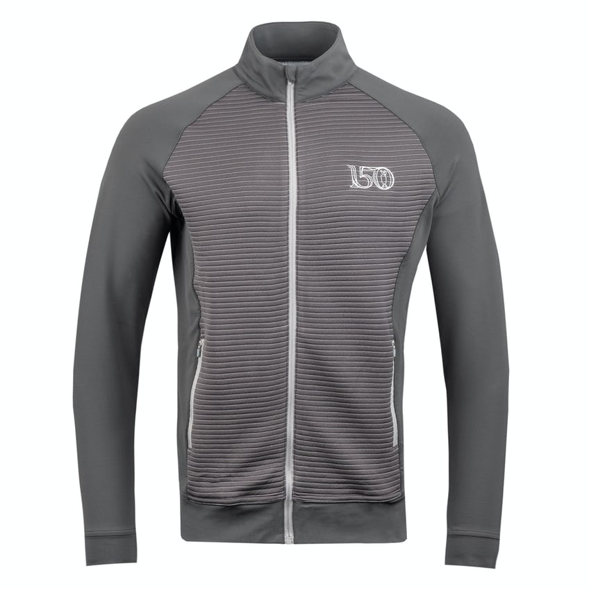 Commemorative 150th Open Full-Zip Layer Sweater - Grey 0