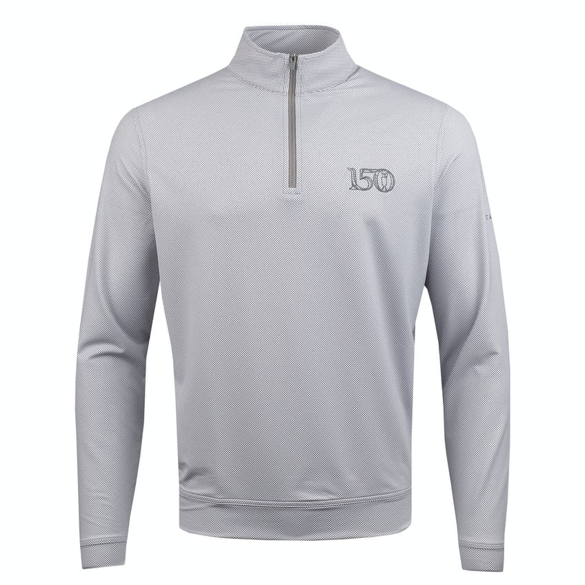 Commemorative 150th Open Zip-Neck Layer Sweater - Grey 0