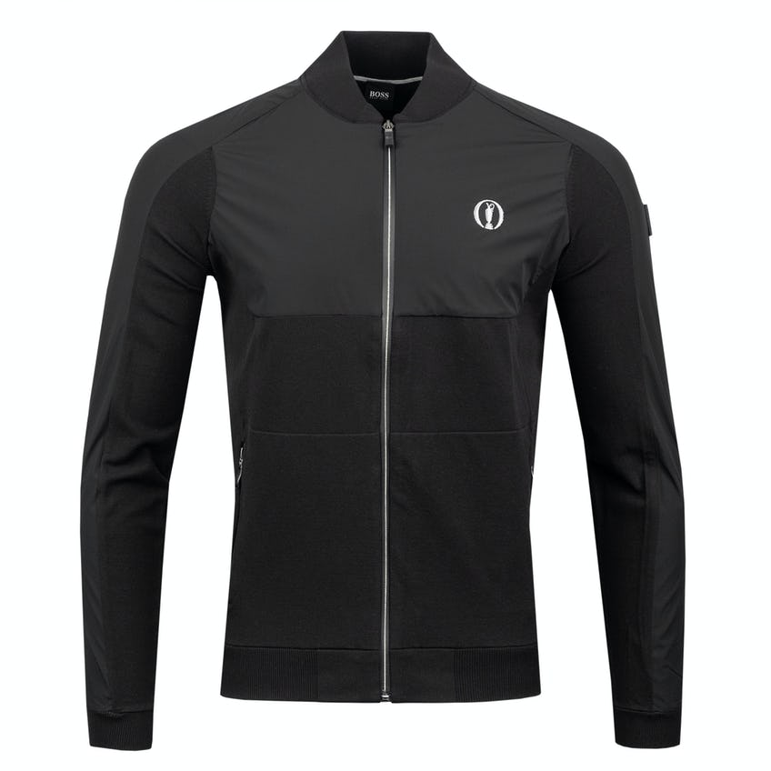The Open BOSS Full-Zip Layer Sweater - Black 0