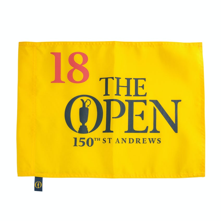 150th St Andrews Pin Flag - Yellow 0