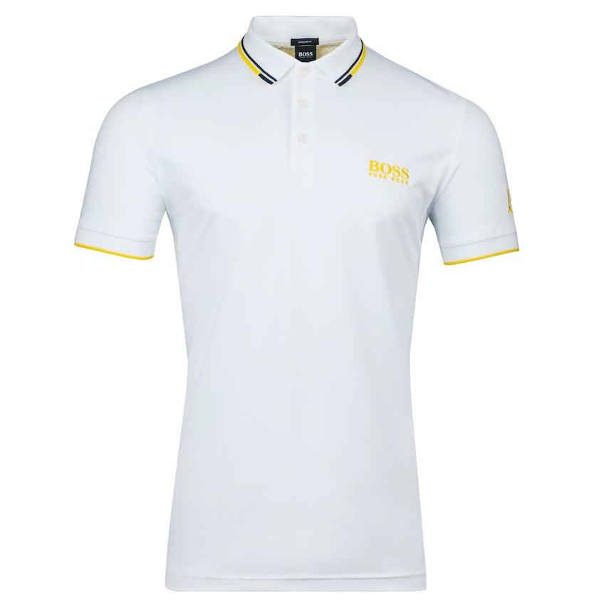 Commemorative 150th Open BOSS Paddy Pro Polo Shirt - White 0