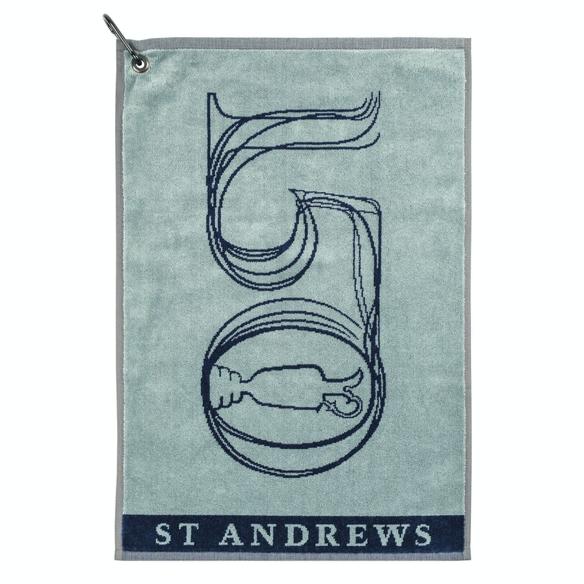 Commemorative 150th Open Towel - Silver and Navy 0