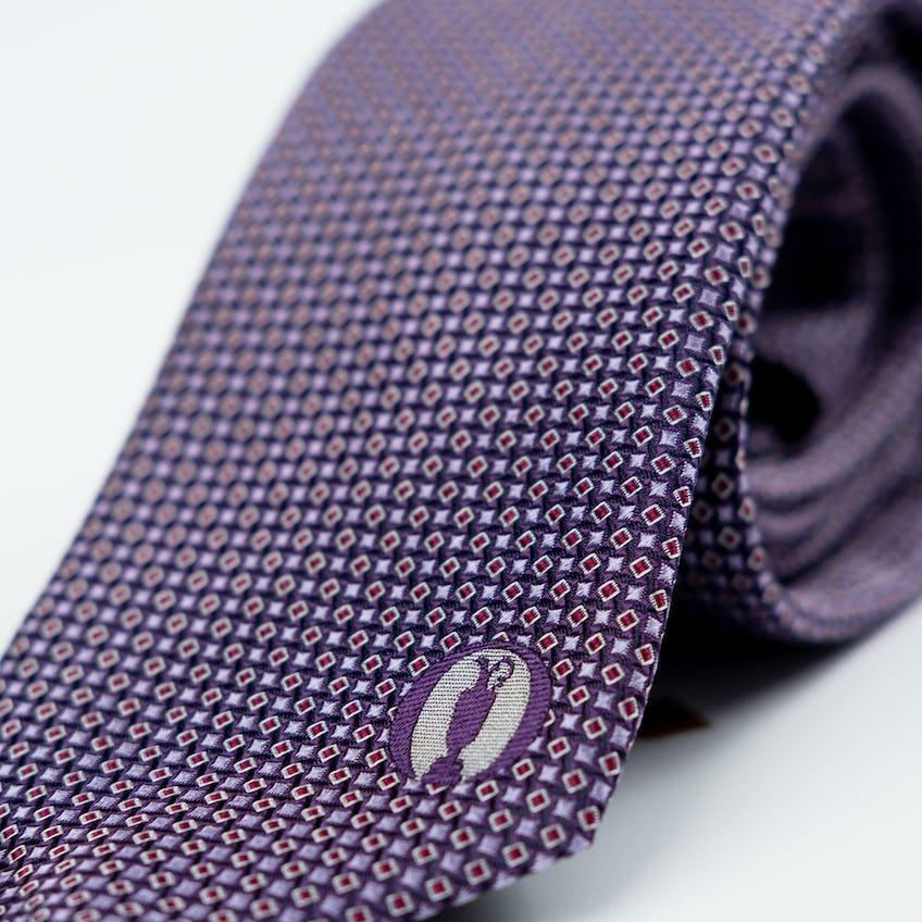 The Open BOSS Tie - Purple 0