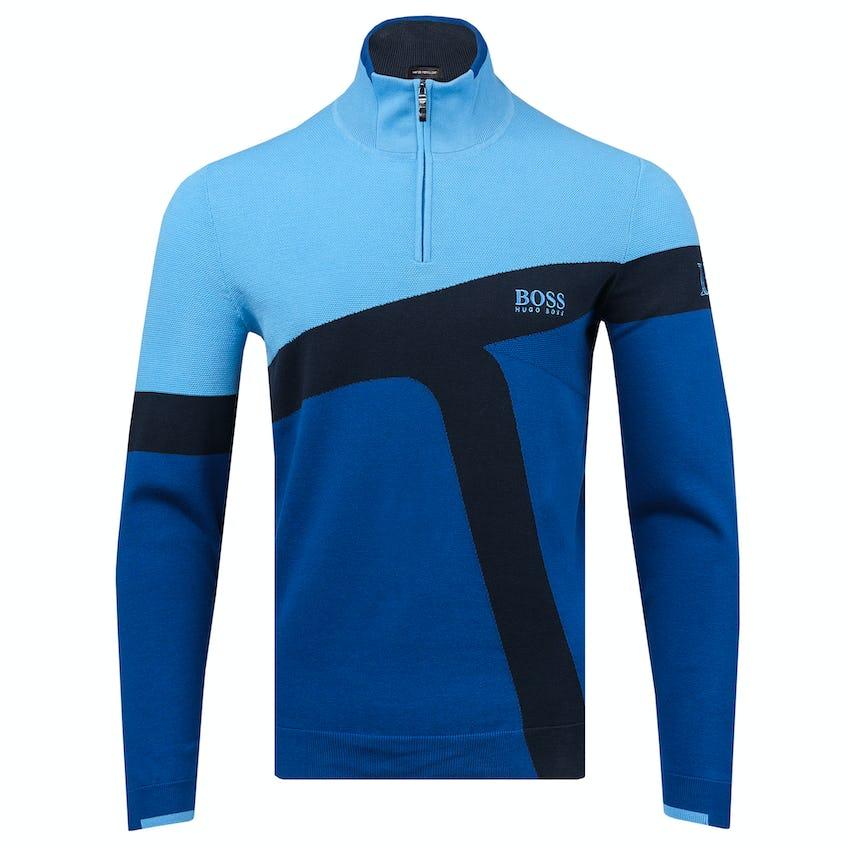 150th St Andrews BOSS 1/4-Zip Sweater - Blue 0