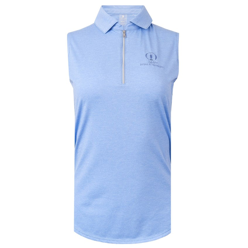 149th Royal St George's Sleeveless Polo Shirt - Blue 0