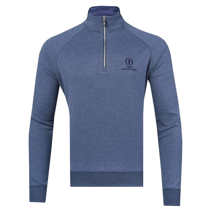 149th Royal St George's Fairway & Greene 1/4-Zip Sweater - Navy 0