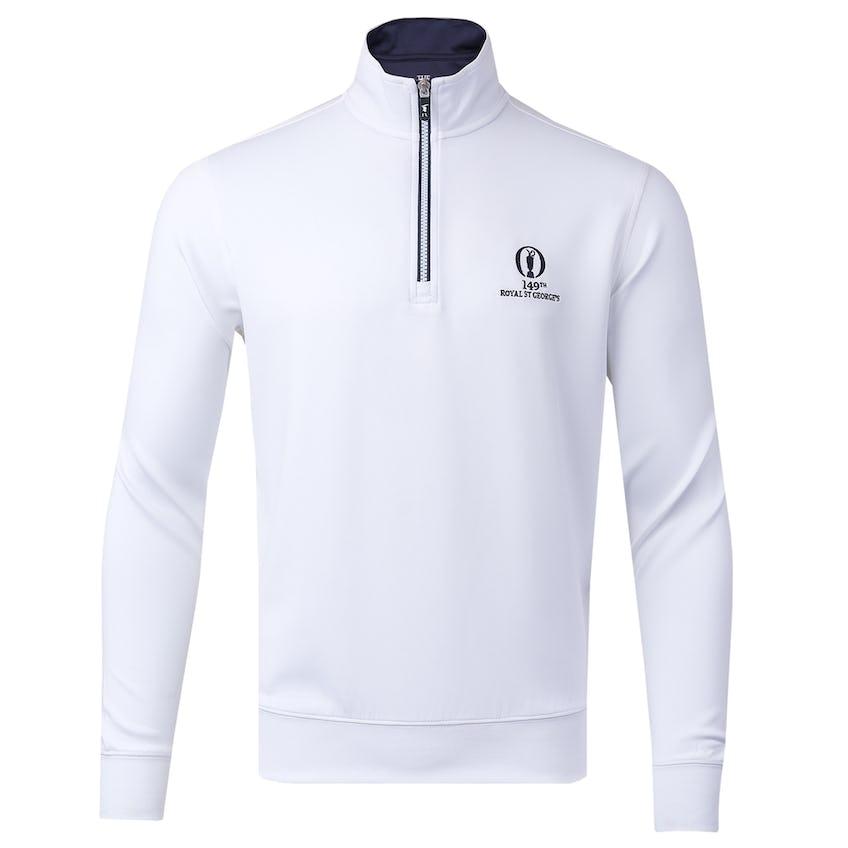 149th Royal St George's Fairway & Greene 1/4-Zip Sweater - White 0