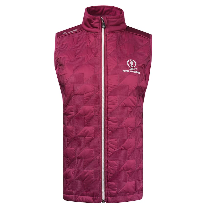 149th Royal St George's ProQuip Therma Tour Gilet - Pink 0