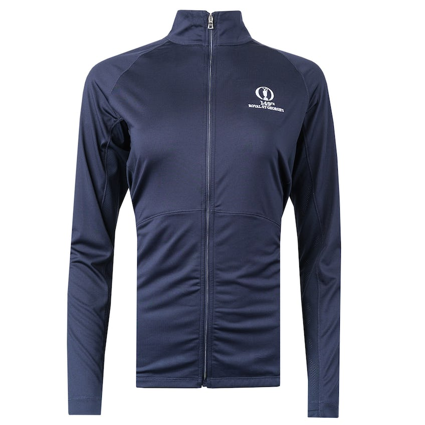 149th Royal St George's Full-Zip Layer Sweater - Navy 0
