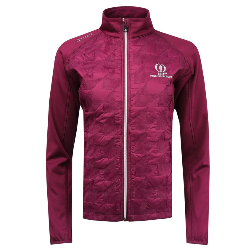 149th Royal St George's ProQuip Therma Tour Jacket - Pink 0