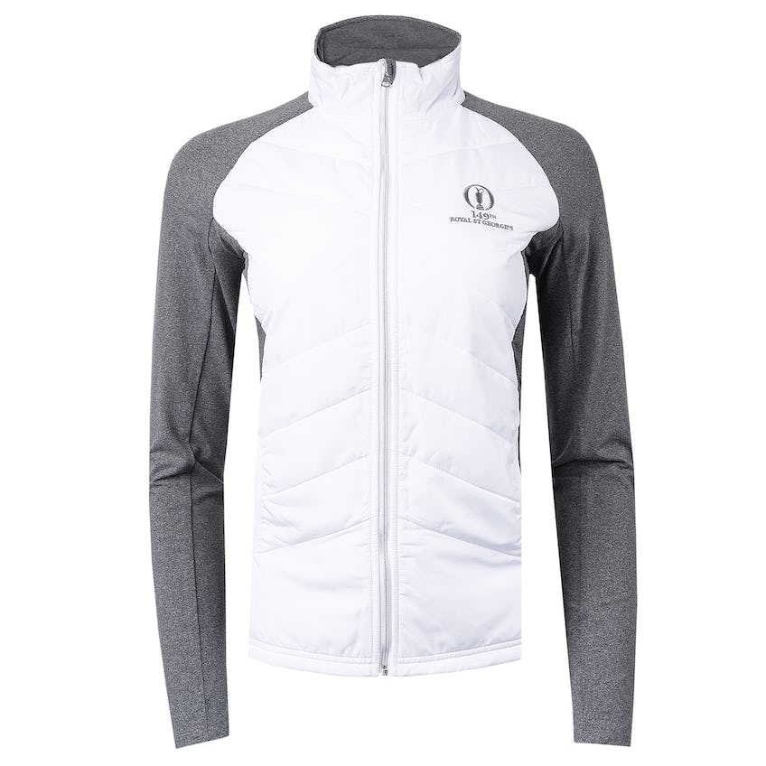 149th Royal St George's Full-Zip Mid-Layer Sweater - White 0