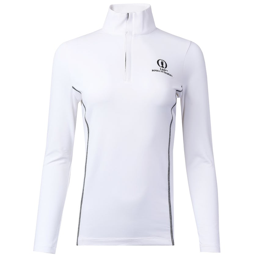 149th Royal St George's 1/4-Zip Sweater - White 0