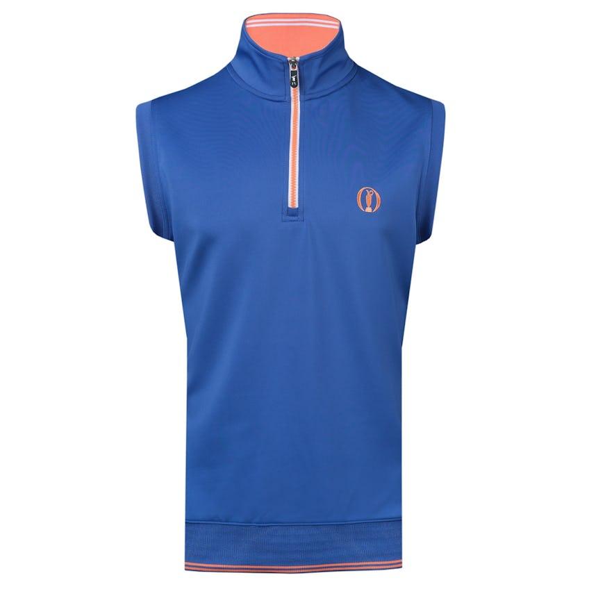 149th Royal St George's Fairway & Greene 1/4-Zip Vest - Blue 0