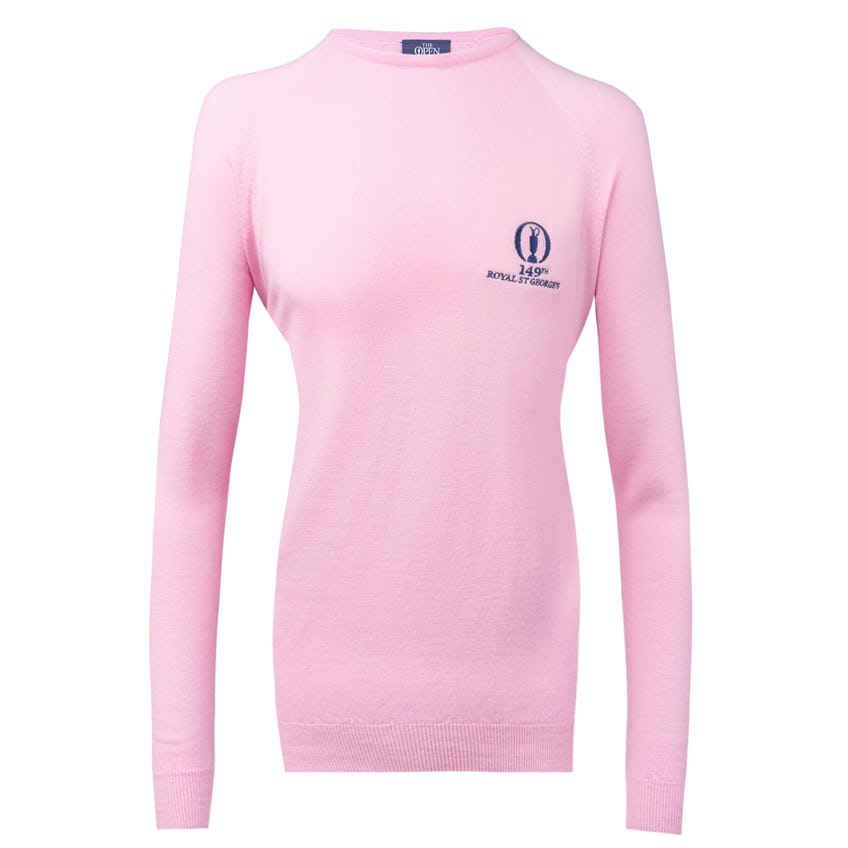 149th Royal St George's Glenbrae Crew-Neck Sweater - Pink 0