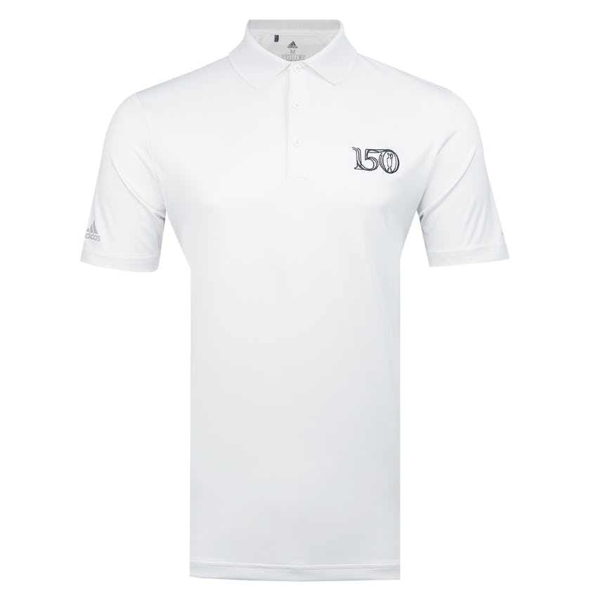 Commemorative 150th Open adidas Primegreen Polo Shirt - White 0