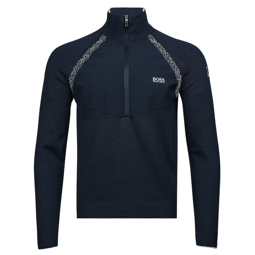 Commemorative 150th Open BOSS 1/4-Zip Hybrid Layer Sweater - Blue 0