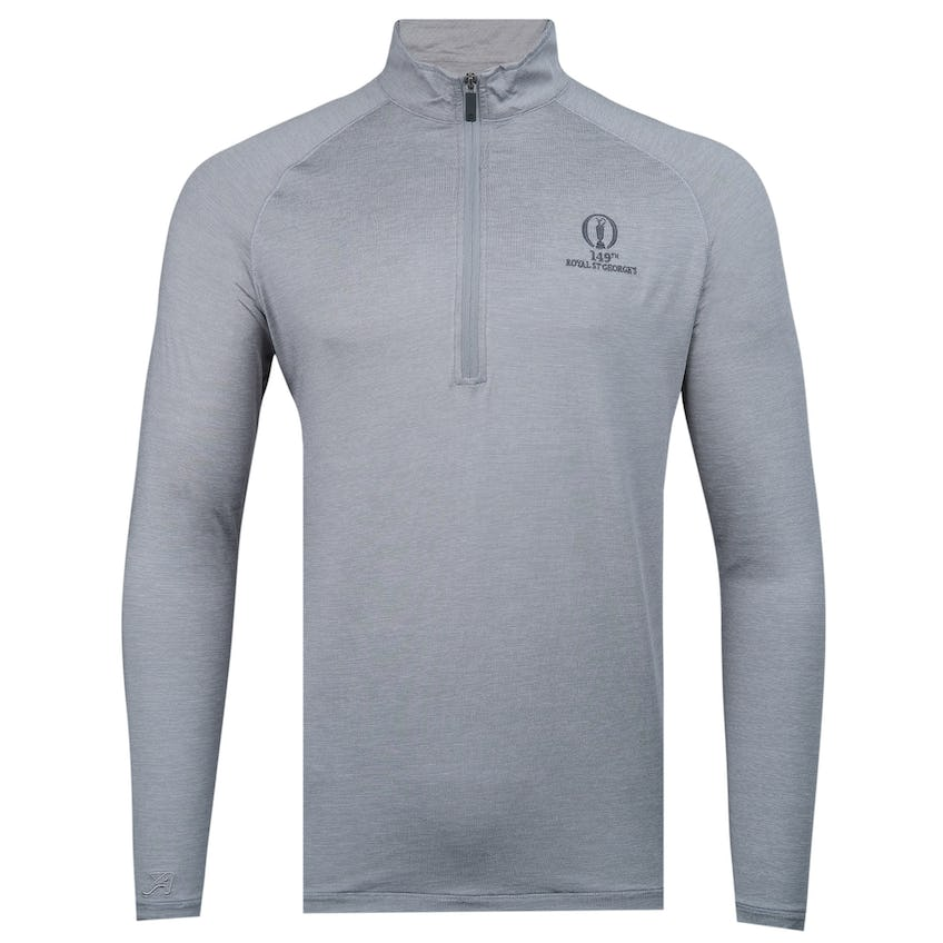 149th Royal St George's 1/4-Zip Sweater - Grey 0