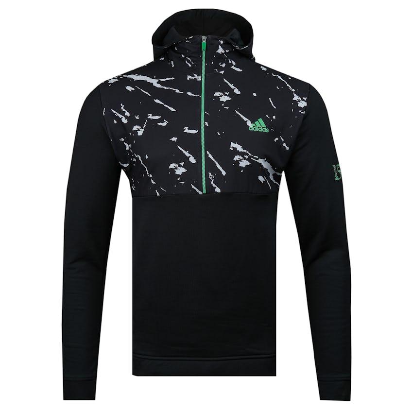 Commemorative 150th Open adidas 1/4-Zip Patterned Hoodie - Black 0