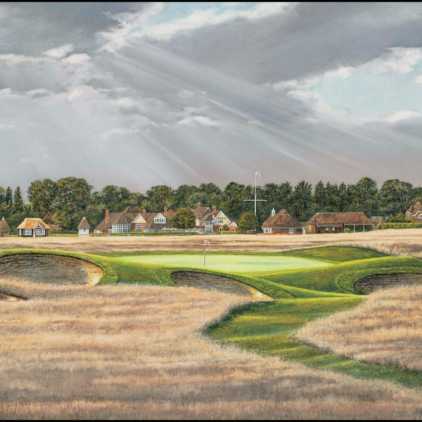 149th Royal St George's Open Championship Canvas Print 0
