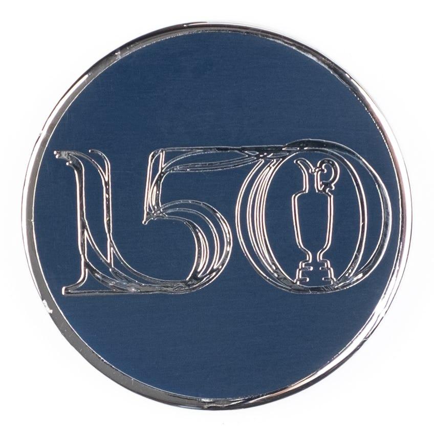 Commemorative 150th Open Collector's Coin - Navy 0