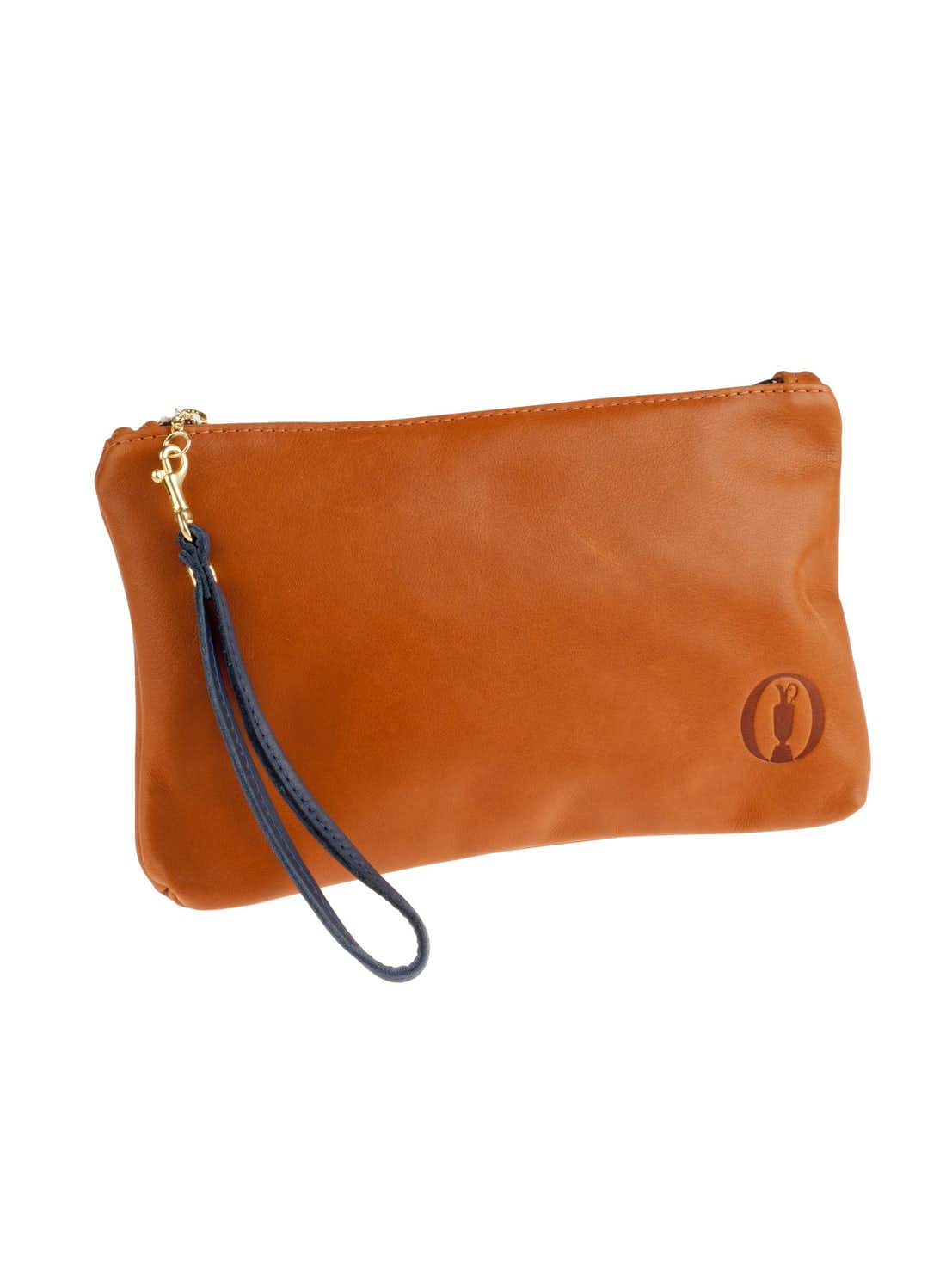 The Open Links & Kings Clutch Purse - Brown